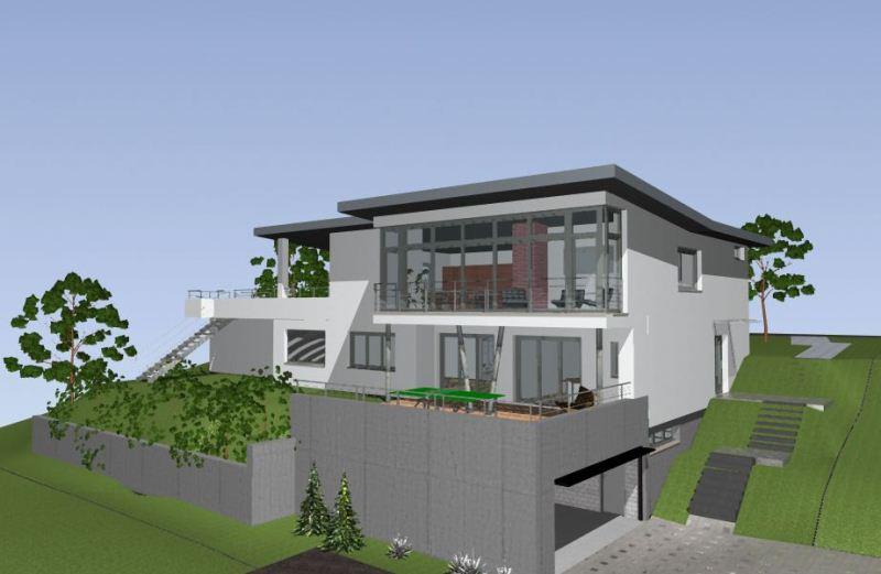 akeret architektur gmbh moderne architektur f r ein einfamilienhaus architekt region wil. Black Bedroom Furniture Sets. Home Design Ideas